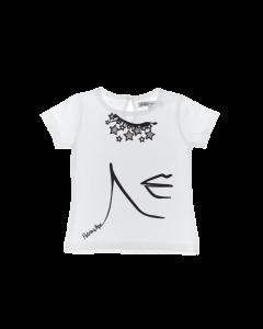 Shirt Patrizia Pepe  TE03 1220 0101 white