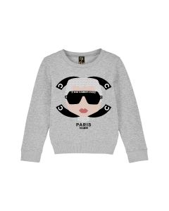 Pulli Sweat Nil & Mon  Little Cambon grey