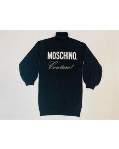 Kleid Strick Moschino  HDV0B5 NERO