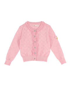 Jacke Strick Angels Face  JANINE FAIRY PINK