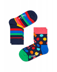 Socken Doppelpack Happy Socks  KSTR02-6002