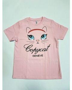 Shirt Nil & Mon  Little Cat light pink