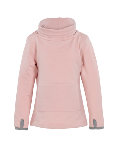Fleece Lupaco  Turtleneck rose J