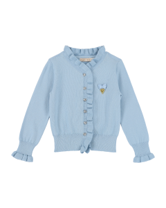 Jacke Strick Angels Face  RAISA BLUE