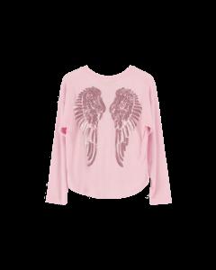 Shirt Angels Face  SERAFINA WINGS ballet pink