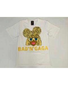 Shirt BAD'N'GAGA white Nil & Mon