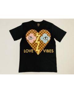 Shirt LOVE VIBES black Nil & Mon