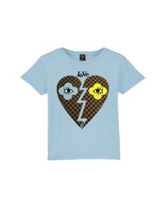 Shirt Nil & Mon  Little Love light blue J