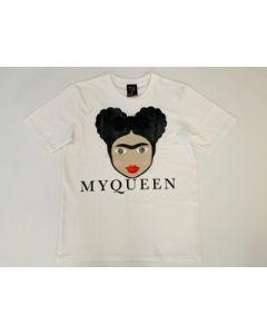 Shirt MY QUEEN white Nil & Mon